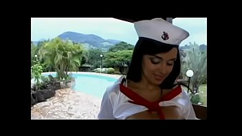 Julia paes nude pics Young playful peacherino in sailors uniform julia paes takes cum load on her big boobs after getting good old brown in the summerhouse