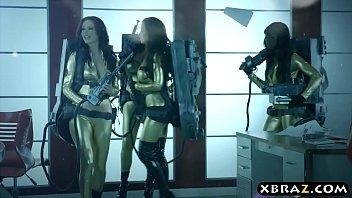 Ghostbuster parody where hot pornstars fuck in an orgy 7分钟
