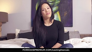 CASTING FRANCAIS - Passionate audition fuck fest with shy Asian babe Suky