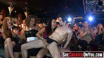 11 Hot sluts caught fucking at club 165