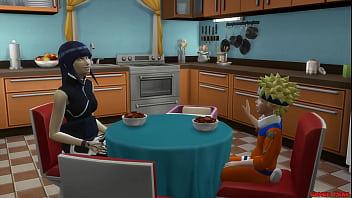 Naruto Hentai Sasuke Fucks Hinata In The Ass While Husband s. NTR 14 min