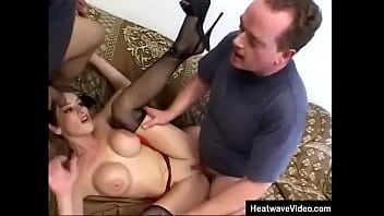 There's nothing like seeing an uppity young mom getting double fucked by this guys who know what they're doing, and who know exactly how to humiliate a whore
