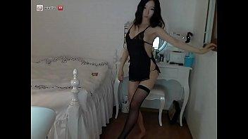 This Gorgeous Korean Babe Strips On Webcam Tease Pt1 - Full Clip on xBabeHub.com