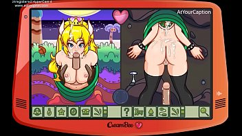 Adult taboo toon henitai games Princess peach hot fuck
