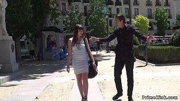 Parisian slave anal fucked in public 5 min