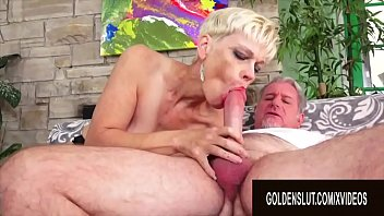 Golden Slut - Older Ladies Show off Their Cock Sucking Skills Compilation 7