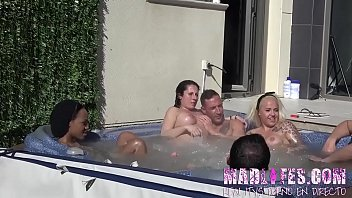 The 2nd MadLifes' Reality Show starts out with a bang: A HOT TUB ORGY! 33 min