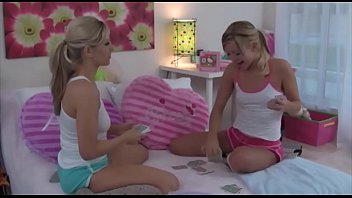 Sisters Naughty Pillow FIght
