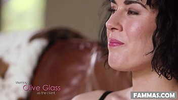 My lewd Step Sister surprised me! - Serena Blair and Olive Glass 6 min
