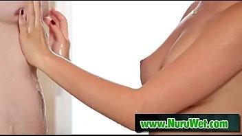 Jake Jace and Melissa Moore at nuru massage