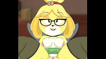 Isabelle in Tinkerbell outfit - Island Secretary Game Walkthrough - Island Secretary 1.5 2 min