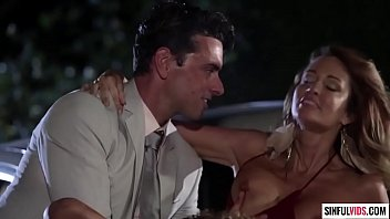 Jessica Drake double penetrated on hood of the car - An Inconvenient Mistress Scene 3 6 min