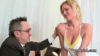 Elegant College Girl Is Tempted And Reamed By Aged Instructor