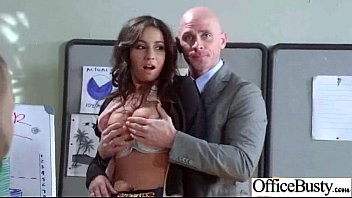 Busty Office Girl (stephani moretti) Bang Hard Style At Work clip-30