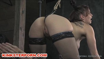 Youtube tits smoking hooked Lesbian slave bella anal hooked in