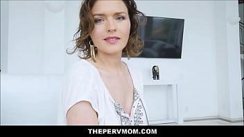 Sexy Big Tits MILF Step Mom Krissy Lynn Seduces And Fucks Big Dick Step Son POV