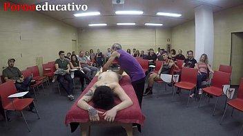 Erotic anal massage class 4 23 min