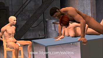 Animated Wife has to pay the mechanics with pussy! 3d 7 min