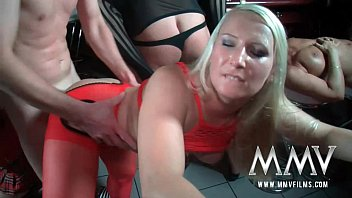 MMVFilms a massive German amateur orgy