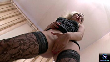 Nympho blonde Ania banged hard in the couch