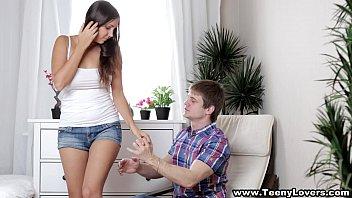 Teeny Lovers - Busty Teen Jay Dee Taking A Creampie Teen Porn