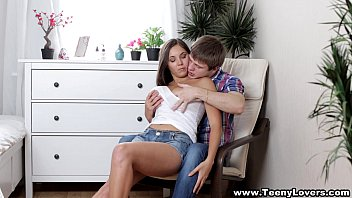 Teeny Lovers - Busty teen Jay Dee taking a creampie teen porn