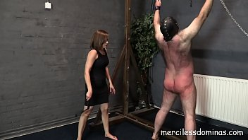 Punished Again - Hard Flogging and Paddling by Goddess Miss Kelly