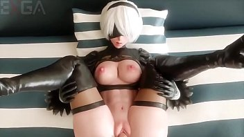 2B fucks in a sexy 3d animation