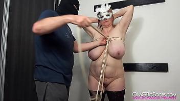 Big tits BDSM slave gets rough treatment 1080p