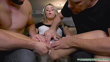 Kate Kennedy Threesome With Stepdad and Not Quite Uncle