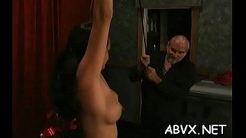 Sensual maid enjoys putz hammering