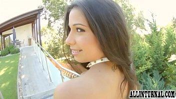 Closeup creampie for gorgeous Mira Cuckhold