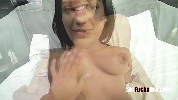 Latina Busty Brunette Sister Fucks Brother After Coming Back From Prison- Alina Belle Vorschaubild