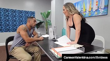 Sweet Pussy Carmen Valentina Dark Dicked By Big Black Cock!