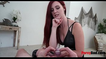 Daddy teaching slut - Dad teaches daughter all about condom or not
