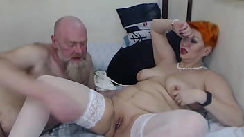 One day in the life of a mature webcam couple Addams-Family.