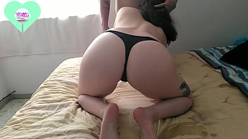 I debuted my little thong with a delicious creampie