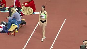 Nina Djordjevic hot long jumper