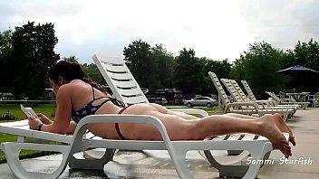 Bikini Milf - Public Pool
