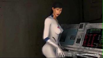 3D Big Tits Alien Doctor Fucked Hard By Aliend Dicks