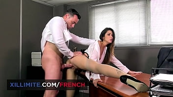 Sex with the intern Clea Gaultier in my office