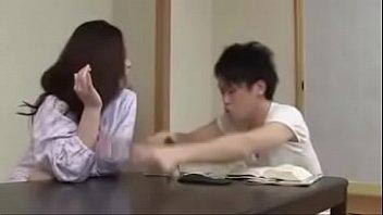 Japanese Asian Mom and Son drunken Hard Fuck thumbnail