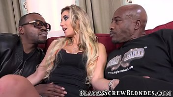Slut interracial rimmed