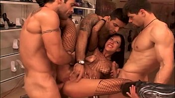 A Delightful Orgy in a Sex Shop with Kelly Ruby!