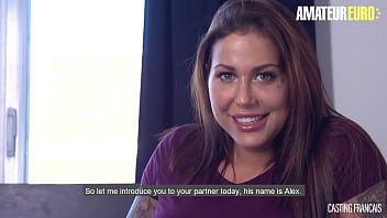 AMATEUREURO - (Heidy Van Horny, Alex Duca ) Big Tits Newbie Babe Steamy Audition Fuck With Horny Stud - CASTING FRANCAIS 15分钟