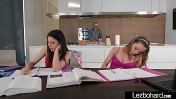 Lesbians on table - Amazing sex scene with naughty teen lesbians girls capri anderson shyla jennings mov-11