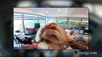 Banging Blonde Coed Sophia Sweet Rides Cock Like A Gymnast In Heat! 11 min