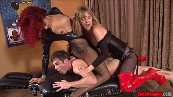 Ass Fucking Punishment FEMDOM STRAPON PEGGING PUSSY LICKING preview image