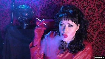 Sexy claire leather smoking - Trailer smoking trance joi edging julie simone