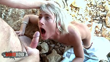 Very brutal anal sex at the beach with Nicky Wayne